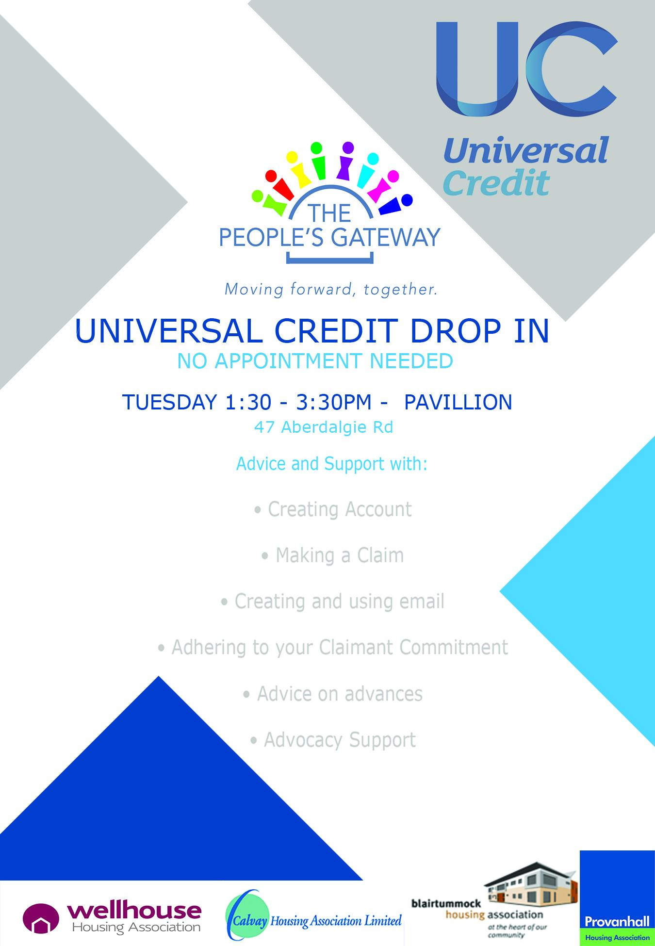 Universal Credit Drop In Session